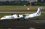 G-JECY, De Havilland Canada DHC-8-400Q Dash 8, flybe.British European