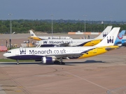 G-MAJS, Airbus A300B4-600R, Monarch Airlines