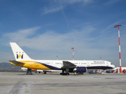 G-MONE, Boeing 757-200, Monarch Airlines