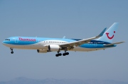 G-OBYH, Boeing 767-300ER, Thomson Airways