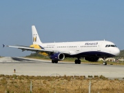 G-OJEG, Airbus A321-200, Monarch Airlines