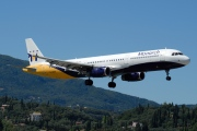 G-OZBF, Airbus A321-200, Monarch Airlines