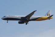G-OZBI, Airbus A321-200, Monarch Airlines