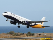G-OZBP, Airbus A321-200, Monarch Airlines