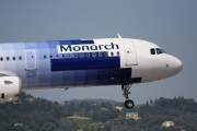 G-OZBR, Airbus A321-200, Monarch Airlines