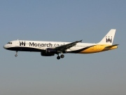 G-OZBU, Airbus A321-200, Monarch Airlines
