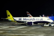 G-OZBW, Airbus A320-200, Monarch Airlines