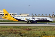 G-OZBZ, Airbus A321-200, Monarch Airlines