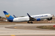 G-TCCB, Boeing 767-300ER, Thomas Cook Airlines