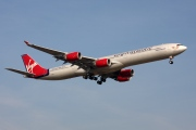 G-VBLU, Airbus A340-600, Virgin Atlantic