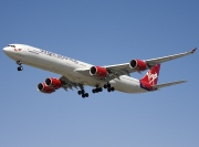 G-VNAP, Airbus A340-600, Virgin Atlantic