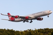 G-VOGE, Airbus A340-600, Virgin Atlantic