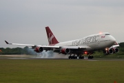 G-VROM, Boeing 747-400, Virgin Atlantic