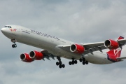 G-VWIN, Airbus A340-600, Virgin Atlantic