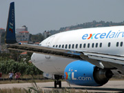 G-XLAF, Boeing 737-800, Excel Airways