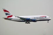 G-XLEH, Airbus A380-800, British Airways