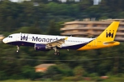 G-ZBAP, Airbus A320-200, Monarch Airlines