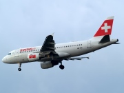 HB-IPR, Airbus A319-100, Swiss International Air Lines