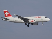 HB-IPS, Airbus A319-100, Swiss International Air Lines