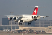 HB-IYZ, British Aerospace Avro RJ100, Swiss International Air Lines