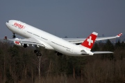 HB-JHA, Airbus A330-300, Swiss International Air Lines