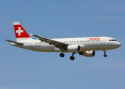 HB-JLQ, Airbus A320-200, Swiss International Air Lines