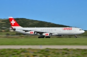 HB-JMD, Airbus A340-300, Swiss International Air Lines