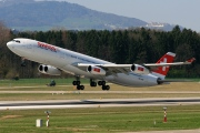 HB-JMF, Airbus A340-300, Swiss International Air Lines