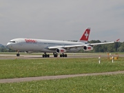 HB-JMK, Airbus A340-300, Swiss International Air Lines