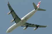 HB-JMN, Airbus A340-300, Swiss International Air Lines