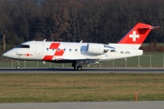 HB-JRA, Bombardier Challenger 600-CL-604, REGA - Swiss Air Ambulance