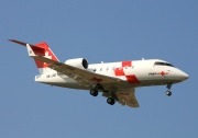 HB-JRB, Bombardier Challenger 600-CL-604, REGA - Swiss Air Ambulance