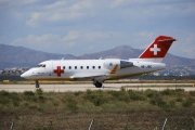 HB-JRC, Bombardier Challenger 600-CL-604, REGA - Swiss Air Ambulance