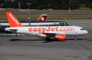 HB-JZF, Airbus A319-100, easyJet Switzerland