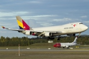 HL7419, Boeing 747-400F(SCD), Asiana Airlines