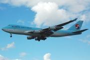 HL7438, Boeing 747-400F(SCD), Korean Air