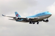 HL7483, Boeing 747-400F(SCD), Korean Air Cargo
