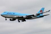 HL7491, Boeing 747-400, Korean Air