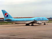 HL7607, Boeing 747-400, Korean Air
