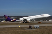 HS-TND, Airbus A340-600, Thai Airways