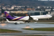 HS-TNE, Airbus A340-600, Thai Airways