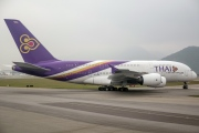 HS-TUB, Airbus A380-800, Thai Airways