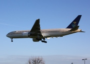 HZ-AKI, Boeing 777-200ER, Saudi Arabian Airlines