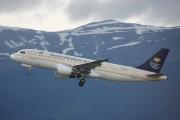 HZ-ASC, Airbus A320-200, Saudi Arabian Airlines