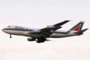 I-DEMY, Boeing 747-200B, Alitalia