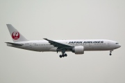 JA706J, Boeing 777-200ER, Japan Airlines