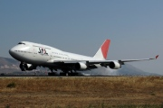 JA8077, Boeing 747-400, Japan Airlines