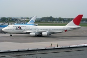 JA8088, Boeing 747-400, Japan Airlines