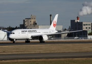 JA827J, Boeing 787-8 Dreamliner, Japan Airlines