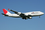 JA8902, Boeing 747-400(BCF), Japan Airlines Cargo
